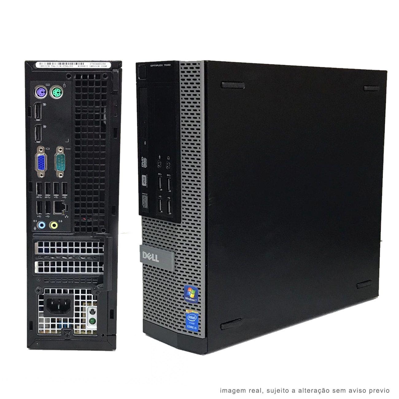 Computador Dell i5 3470 8GB HD 500GB Wifi Win10 Promoção