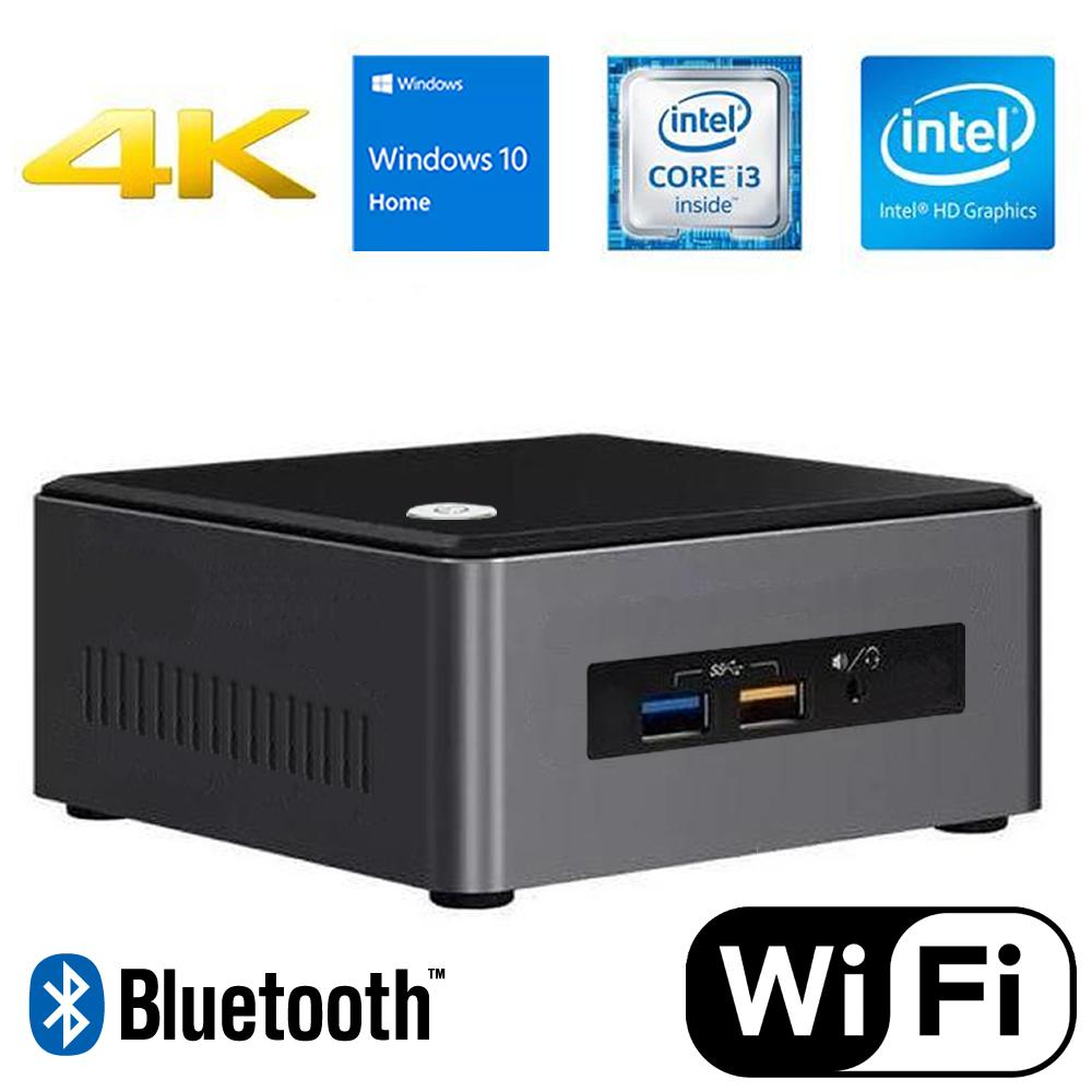 Computador Mini Cpu Nuc Intel Core i3 8gb Ssd 240gb Wifi
