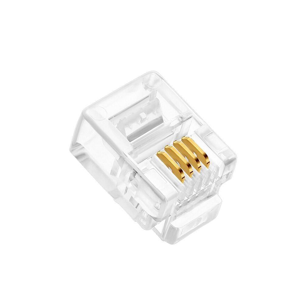 Conectores Rj-11 6x4