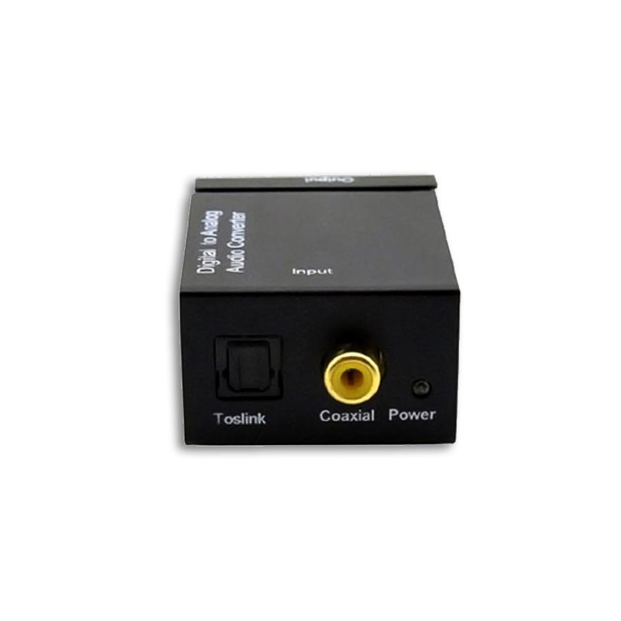 Conversor Optico Digital Coaxial P/ Som Analógico Saída RCA
