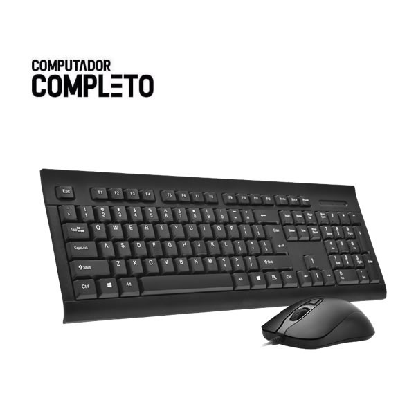 Cpu Intel Core 2 Duo 4gb HD 500gb Teclado Mouse