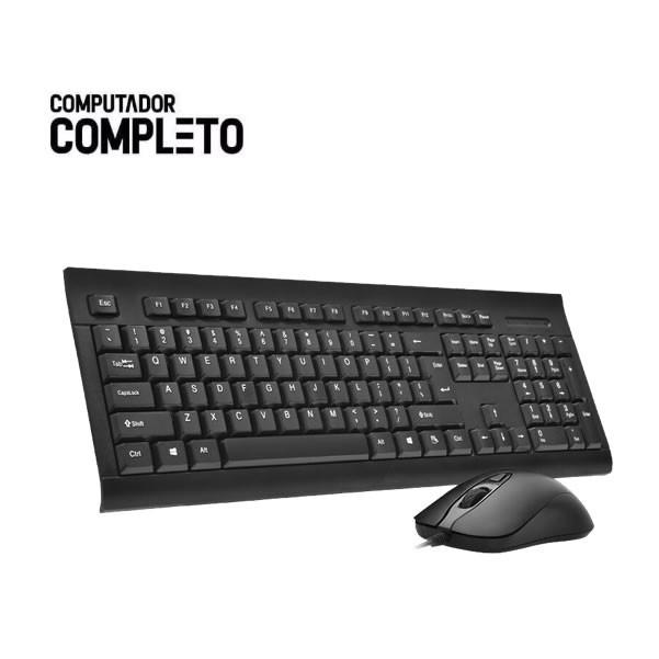 Cpu Intel Core i3 8gb HD 500gb Teclado Mouse