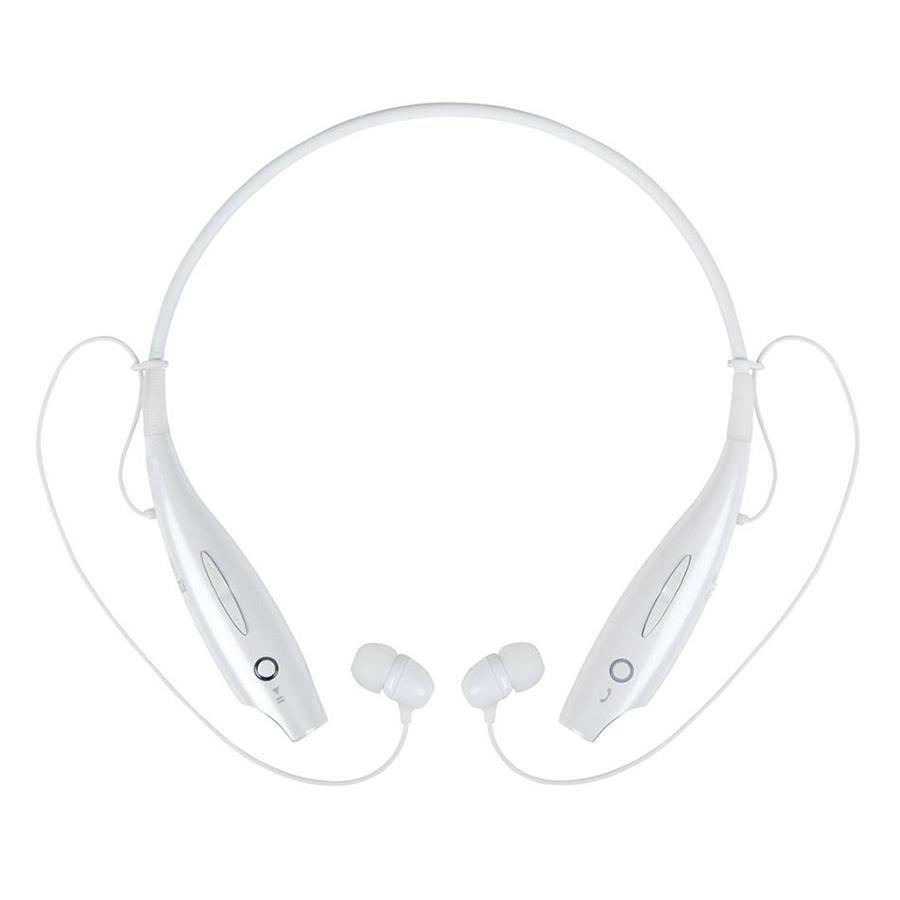 Fone de Ouvido Bluetooth Branco HPS 730 Hardline