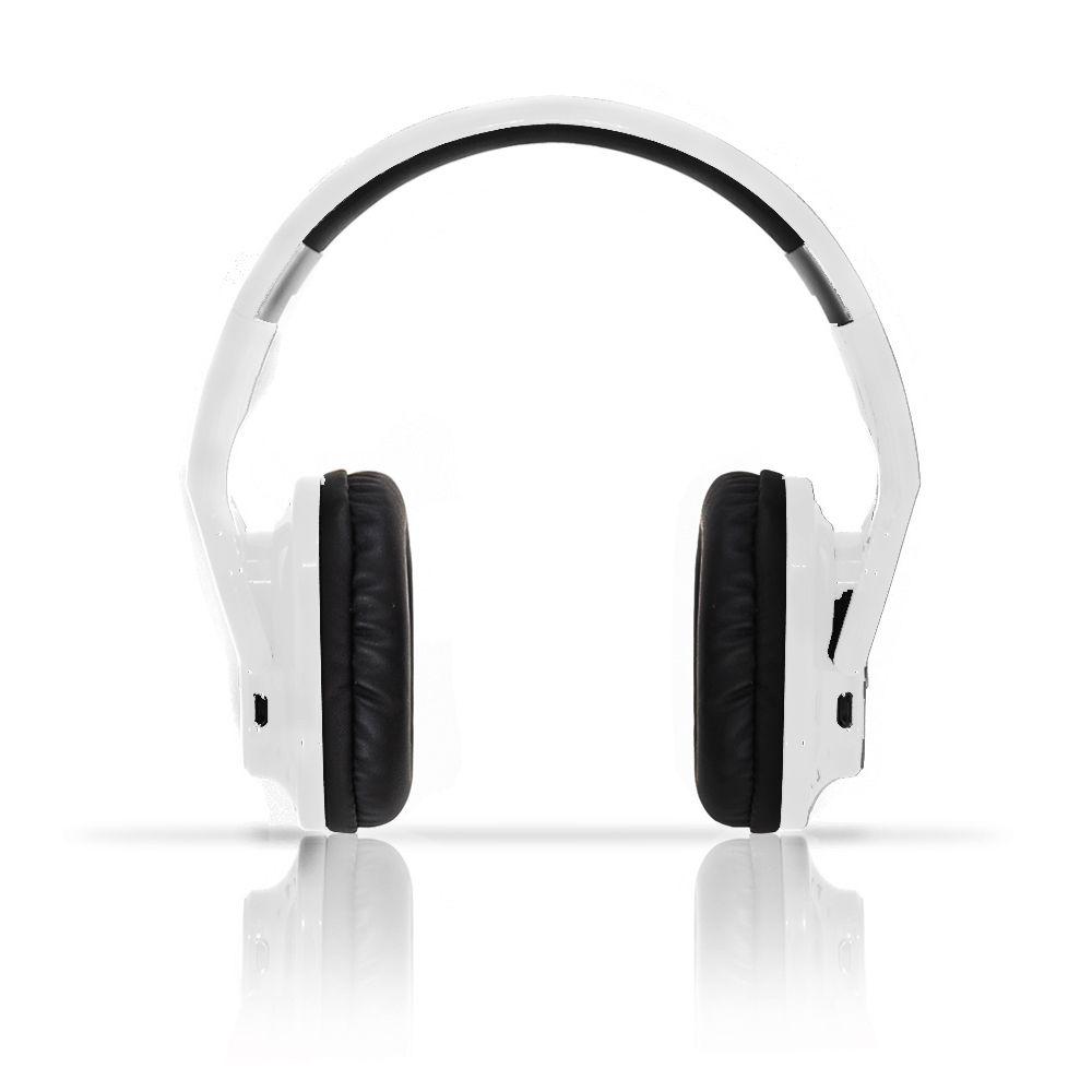Fone de Ouvido Bluetooth HBT 800 Branco Exbom