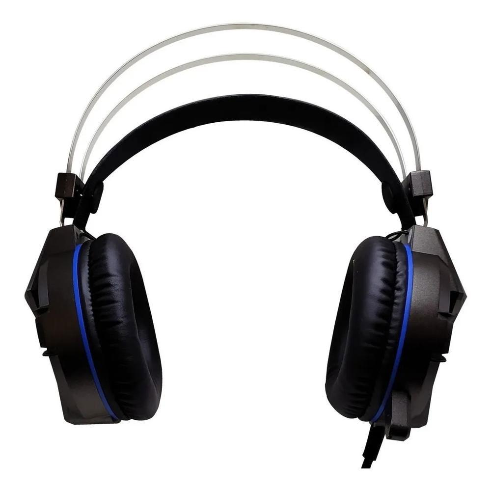 Fone Headset Gamer Led Usb + Adaptador Y P2 Ps4 Pc Df-83 Dex