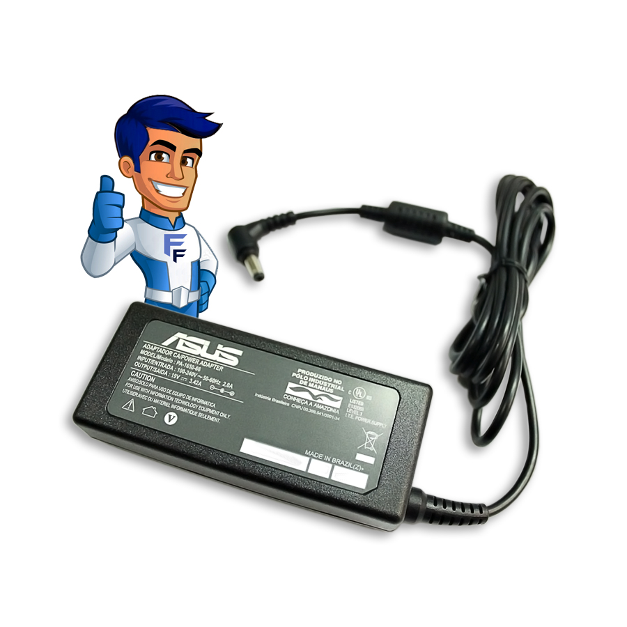Fonte P/ Notebook Asus 19V - 3.42A - F3