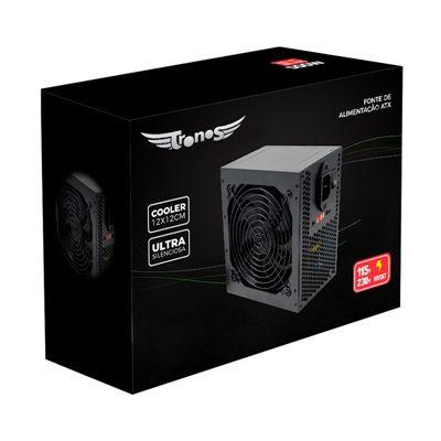 Fonte Real ATX 600W Tronos TRS/6350-B