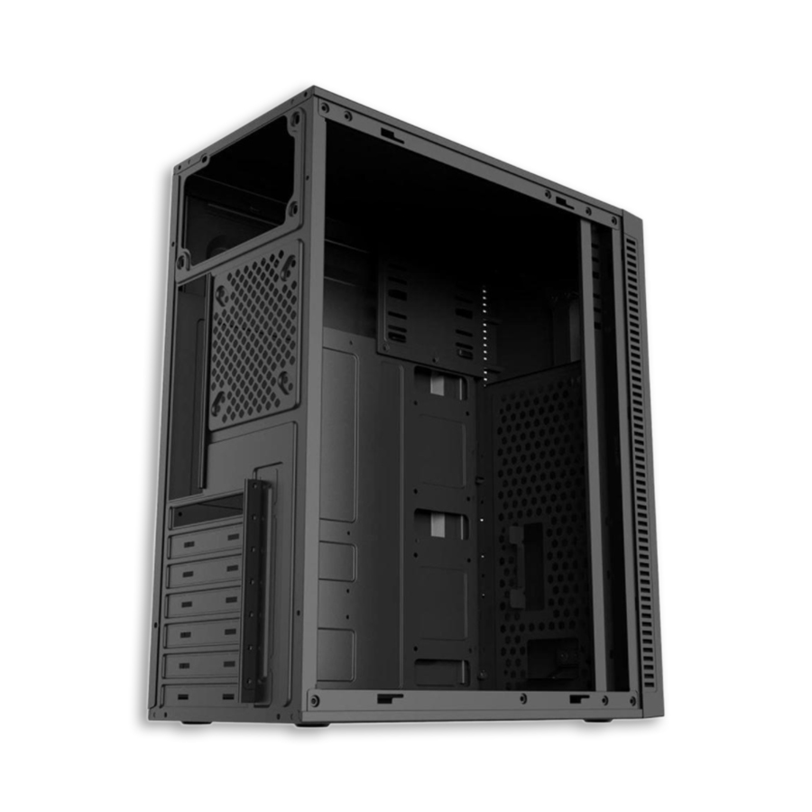 Gabinete Pixxo Gamer Ge3202 Led Rgb Acrilica S/ Fonte