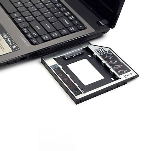Gaveta de Notebook P/ HD 2.5 Case Caddy Sata 12,7 mm F-CY02