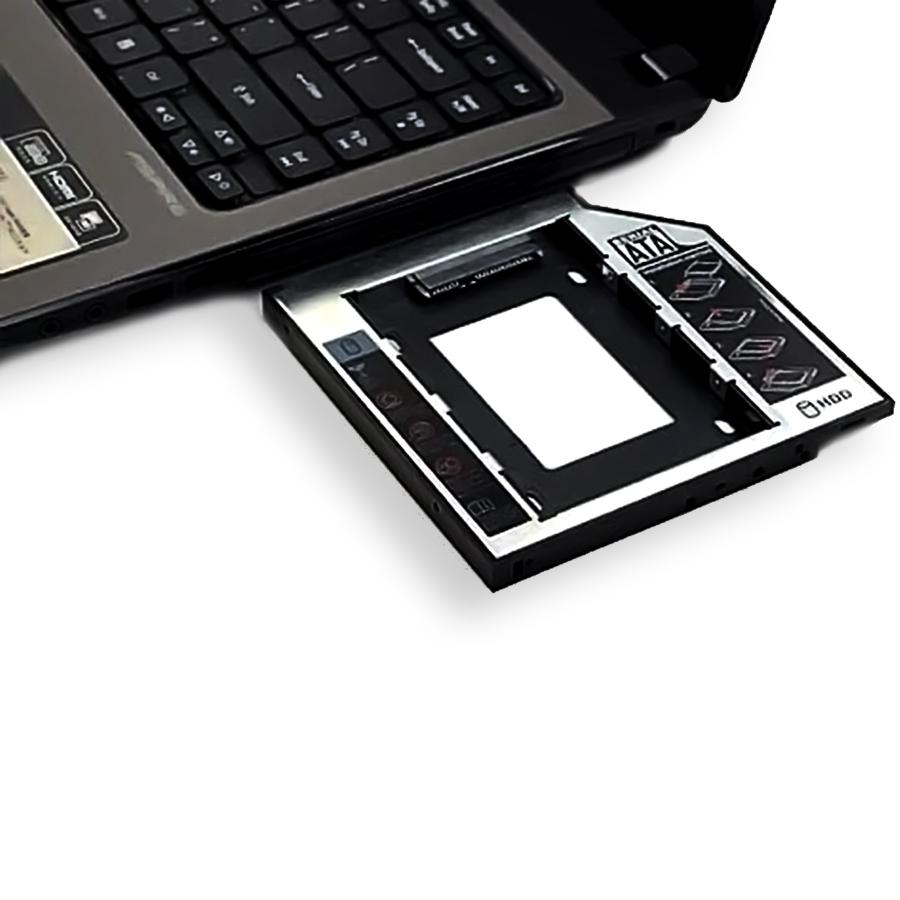 Gaveta de Notebook para HD 2.5 Case Caddy Sata 9,5 mm F-CY02