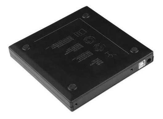 Gravador De Dvd Externo Slim Fnew Leitor Cd Dvd Portatil