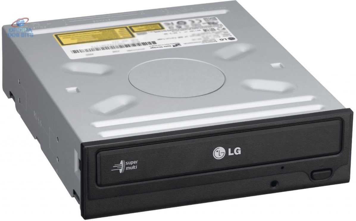 GRAVADOR DVD/CD RW GH22 LG PRETO