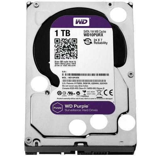 HD 1000GB SATA WESTERN DIGITAL PURPLE 720RPM