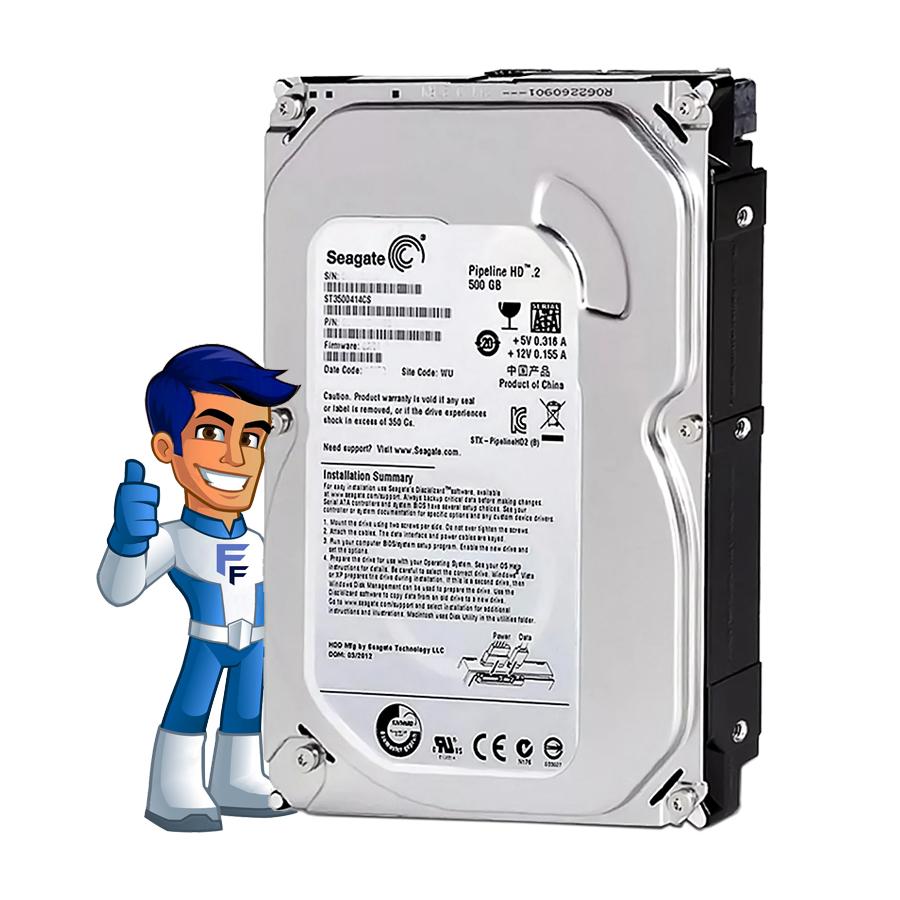 HD Disco Rígido Interno 500GB Seagate Pipeline HD ST3500312CS
