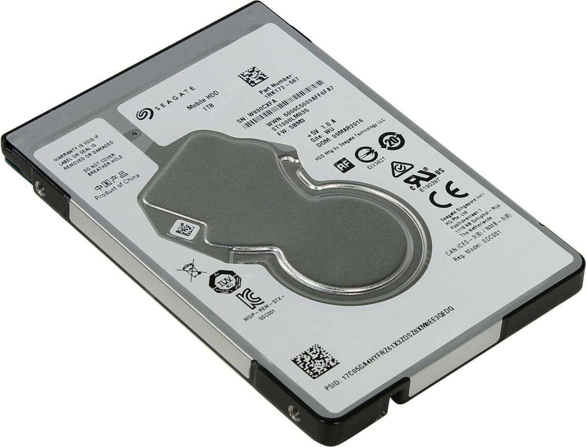 HD Notebook 1000GB Sata 5400 RPM Slim Seagate