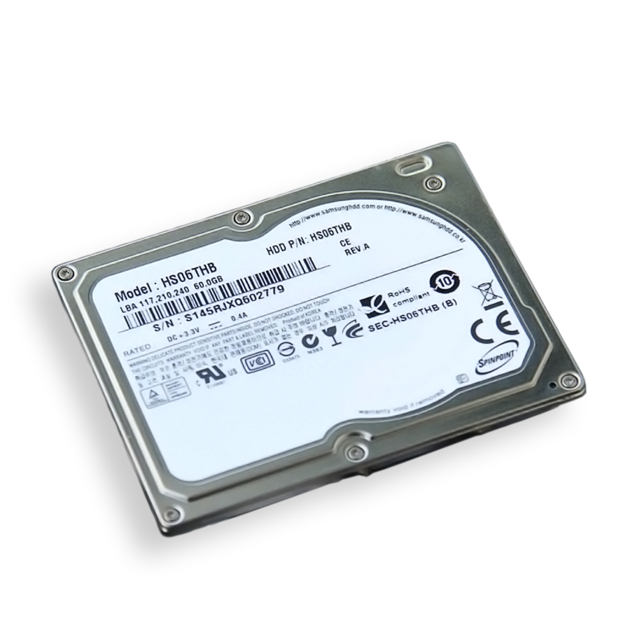 HD Notebook 60gb Spinpoint Mini - Hs06thb - Samsung