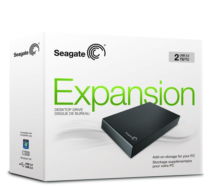 HD Seagate Externo Expansion 2TB USB 3.0 - STBV2000100