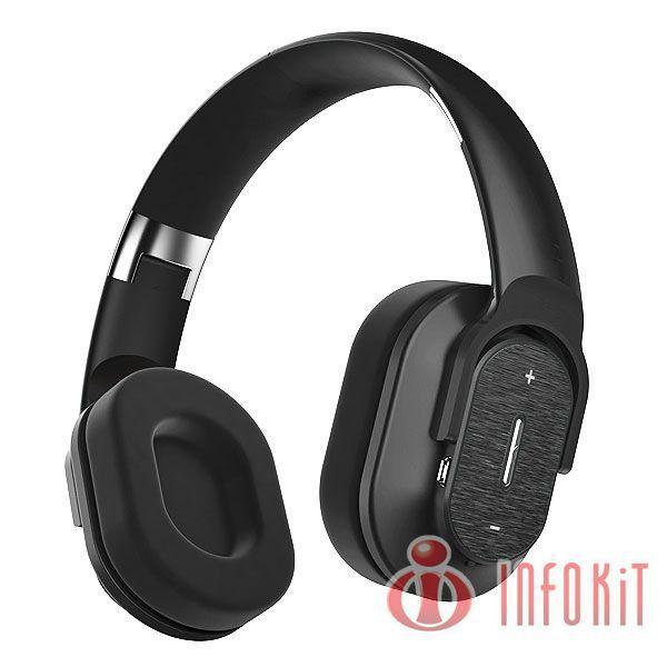 Headfone Bluetooth Preto / Branco / Vermelho HBT-800