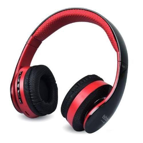 Headphone Bluetooth HF 400 BT Vermelho Exbom