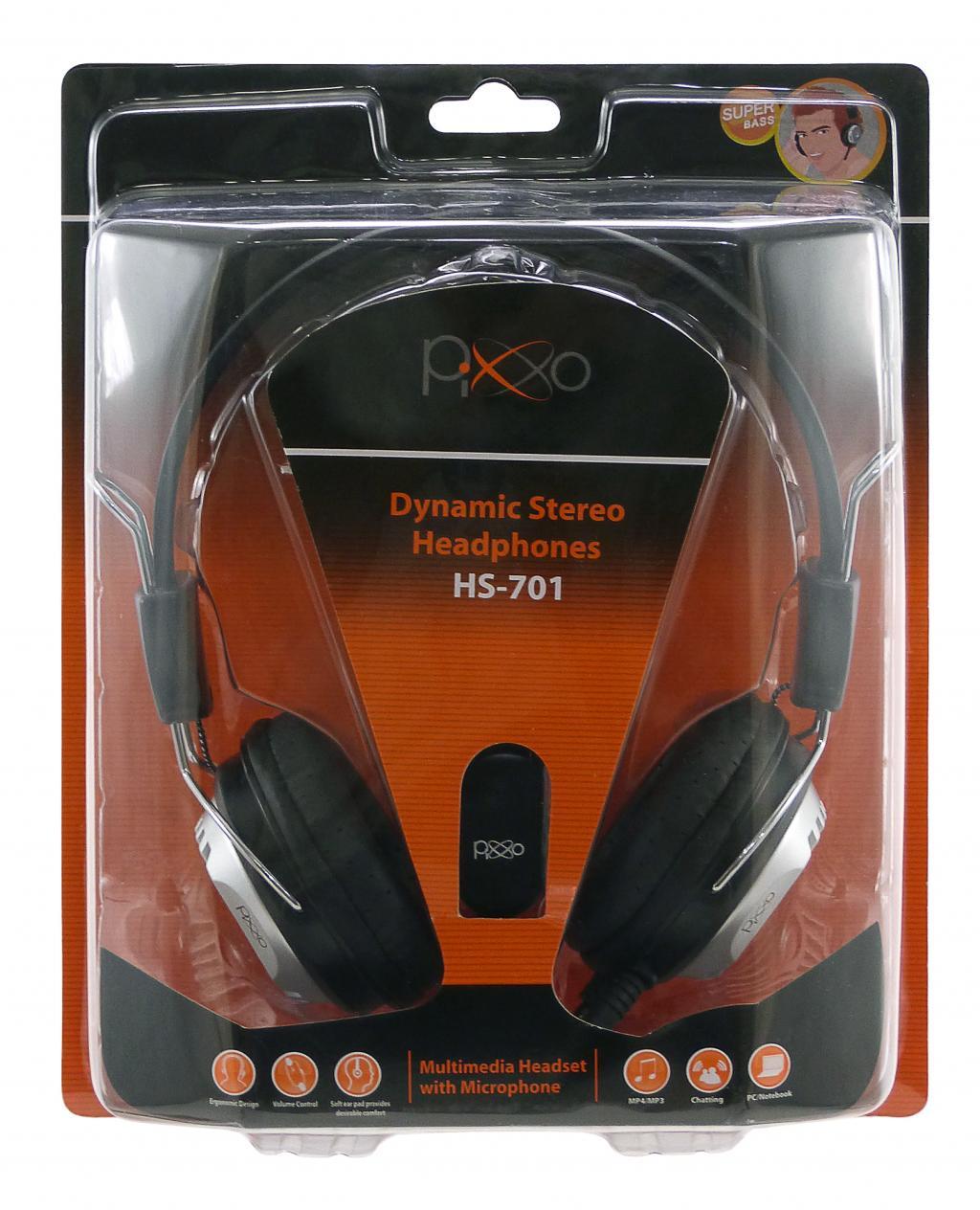 HEADSET HS-701 PIXXO
