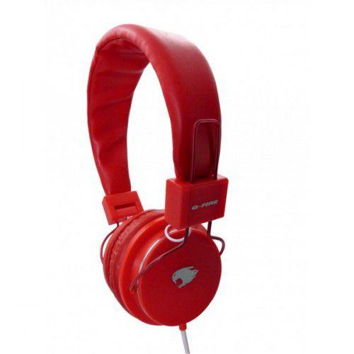 headset JAZZ EP-H220 EGSE VERMELHO G-FIRE