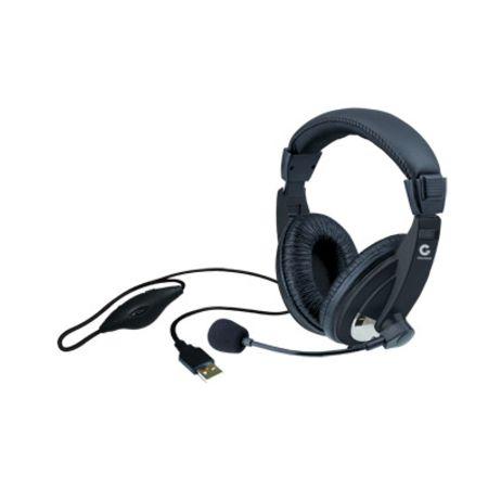 Headset Leadership c/ Microfone USB 1747