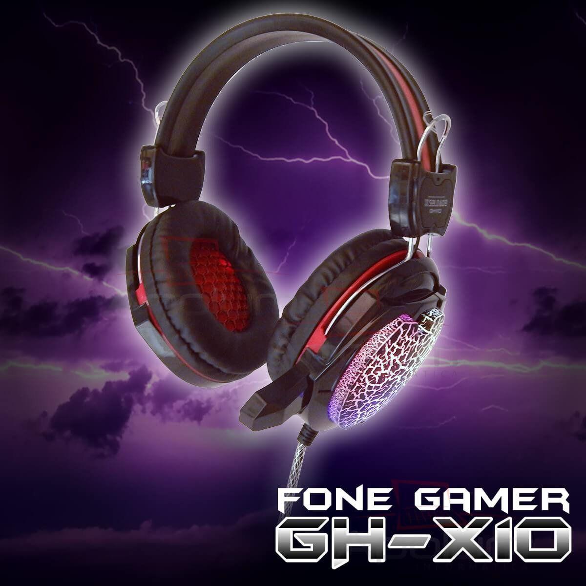 HEADSET USB GHX-10 GAMER INFOKIT