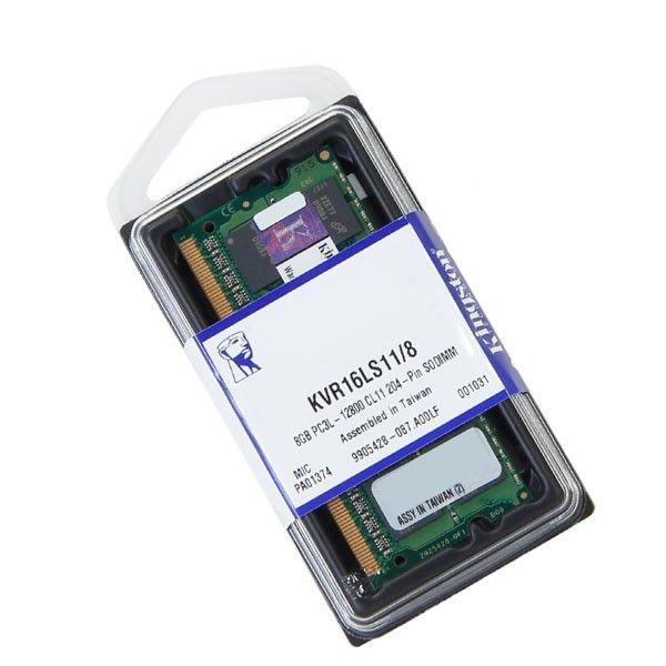Memoria 08Gb DDR3 Pc 12800 (1600MHZ) Low Volt Notebook