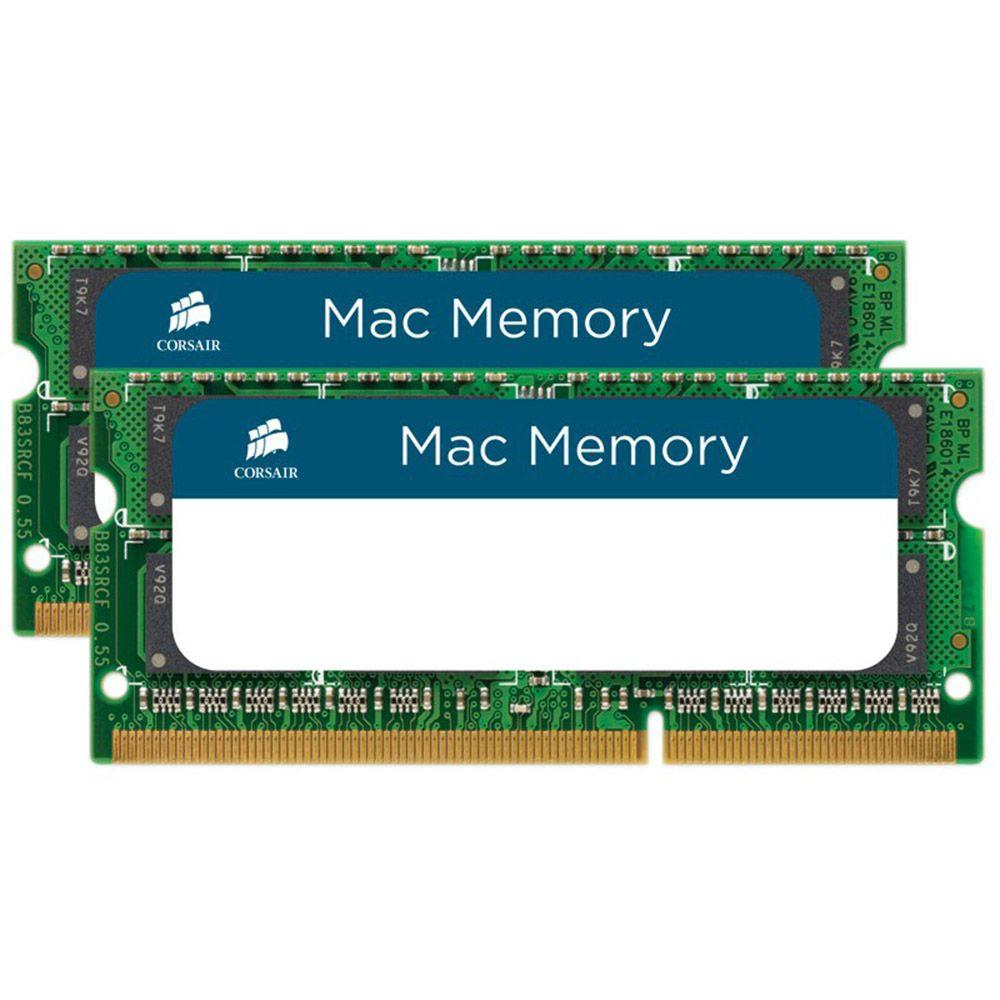 Memoria 16gb DDR3 Pc 10600 (1066MHZ) 2X8GB notebook MAc Corsair