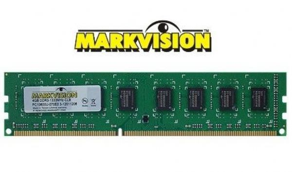 MEMORIA DDR3 4GB 1333MHZ MARKVISION PC 10600