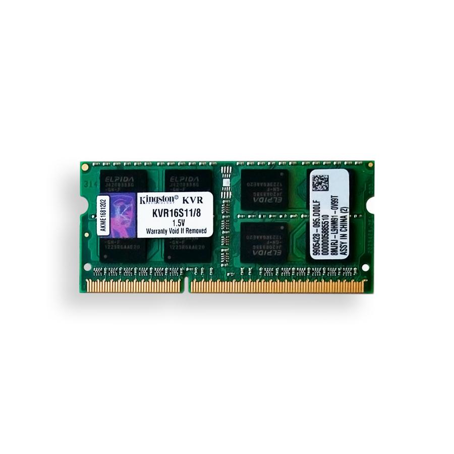 Memoria Kingston 8GB DDR3 Pc 12800 (1600 Mhz) Notebook