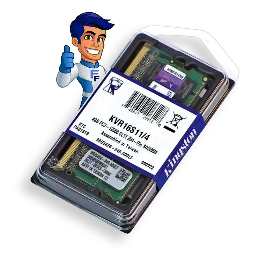 Memoria p/ Notebook DDR3 4GB 1600MHZ Kingston