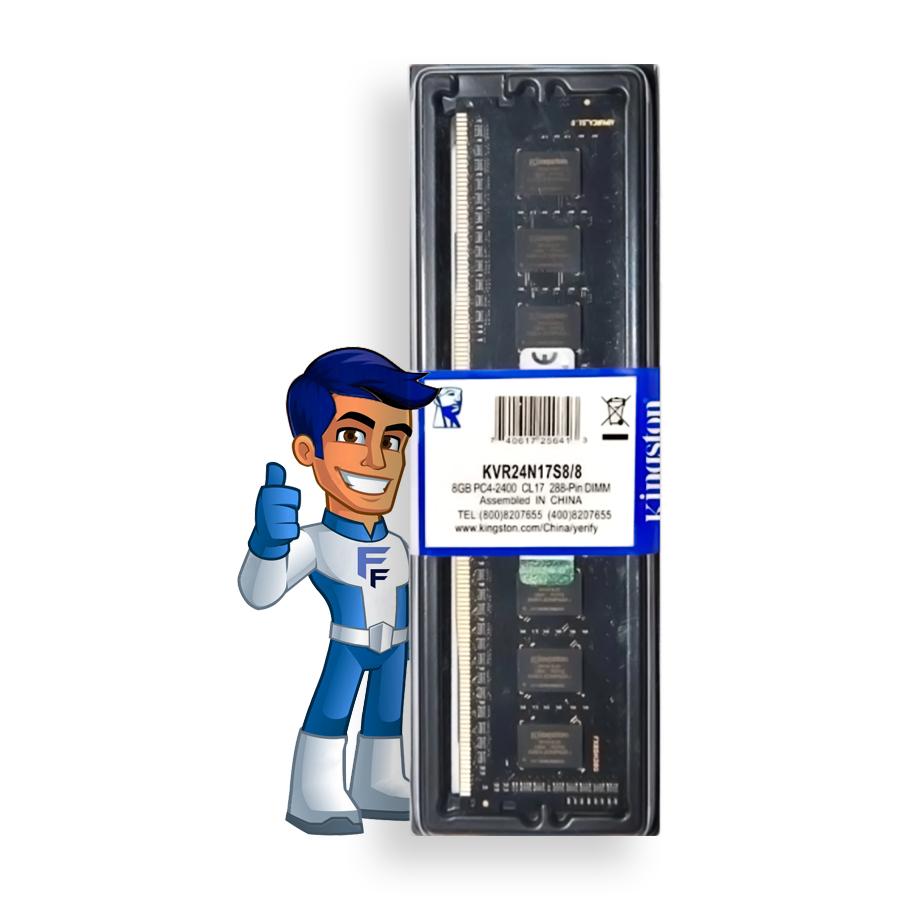 Memoria Ram Kingston 8GB DDR4 2400mhz KVR24N17S8/8