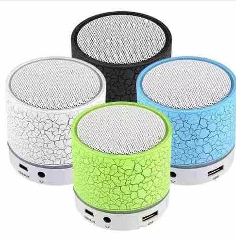 Mini Caixa Som Mp3 Bluetooth Usb Micro Sd Dbh1033 Grasep  VERMELHA