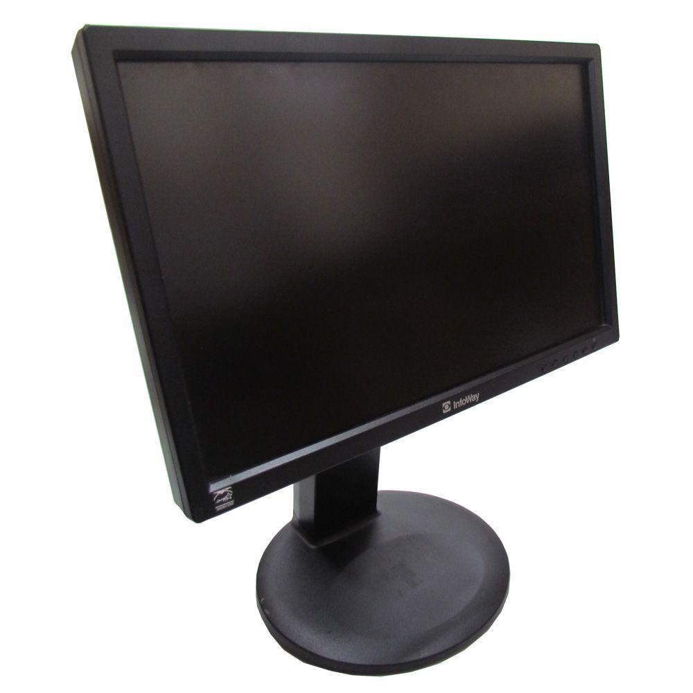Monitor Seminovo LCD Quadrado 17' Polegadas Vga C/ Garantia Promoção