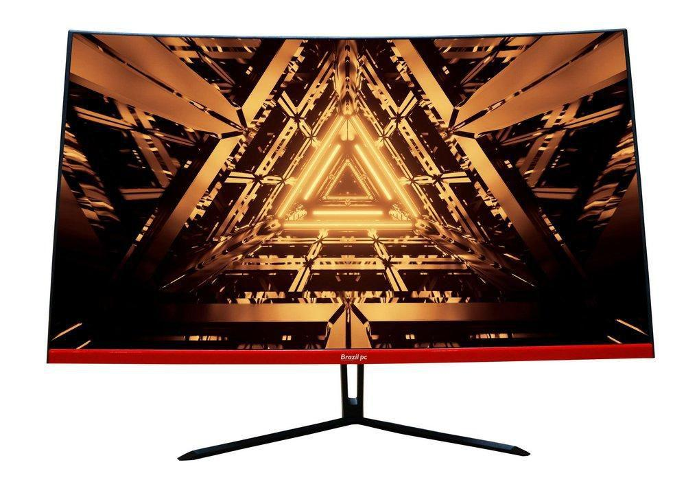 Monitor Led 31.5 Brazilpc 32bpc-nckan Curvo R1800 75hz Preto
