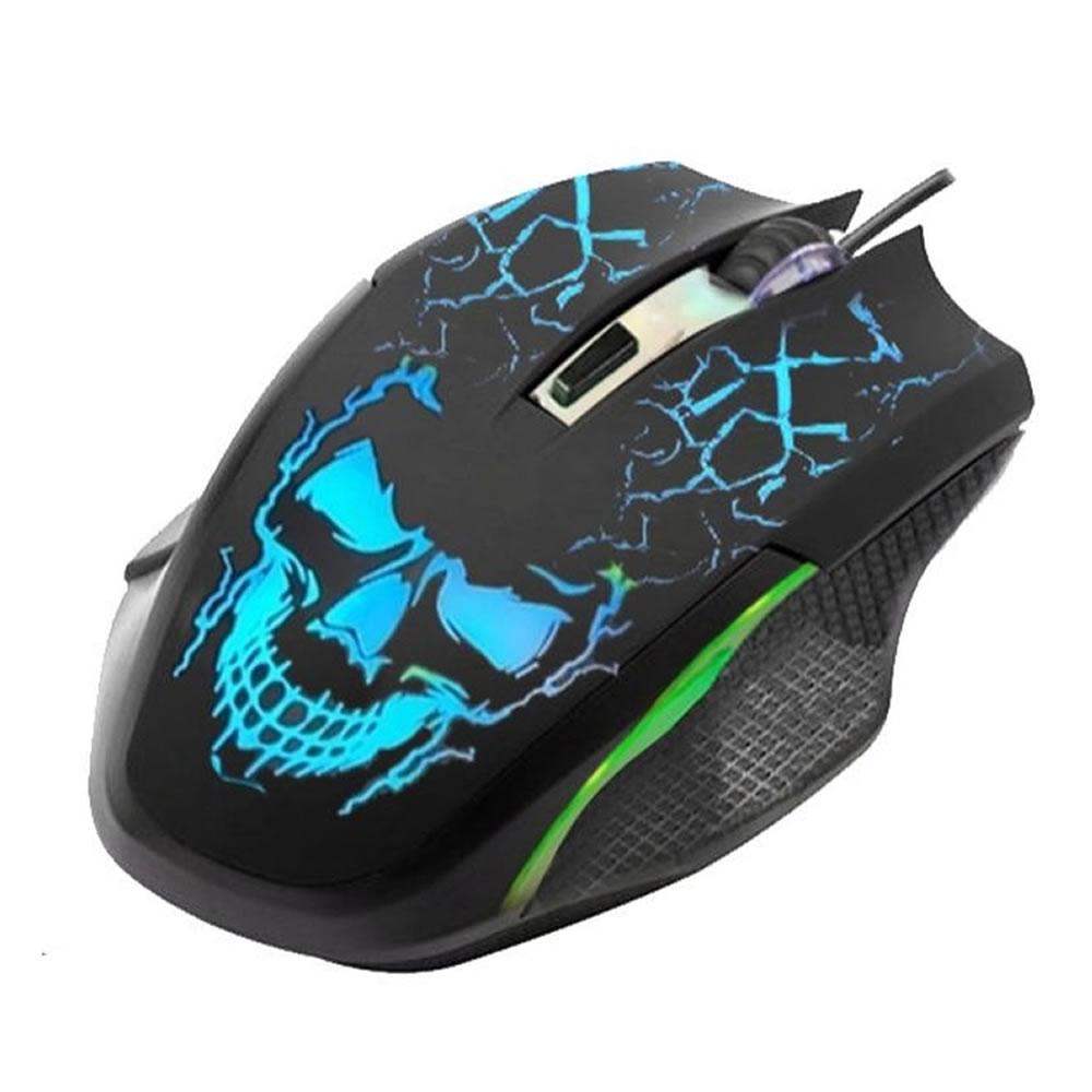 Mouse Gamer Usb Maxxtro 6D Ekm 302 3600 Dpi