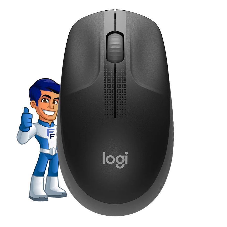 Mouse Logitech M190 Wireless 1000dpi