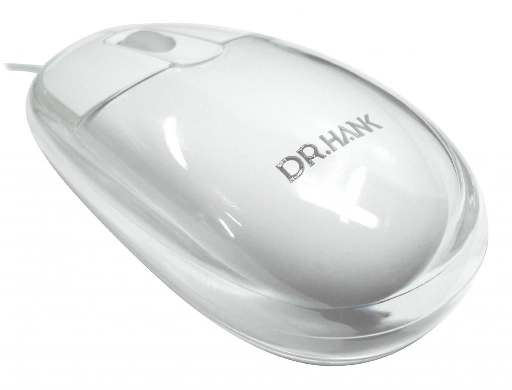 Mouse Optical PS-2 MO-I33P- D80B Branco Dr-Hank