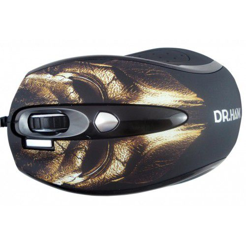 MOUSE ÓPTICAL USB MG-901UDX1M MARROM DR.HANK