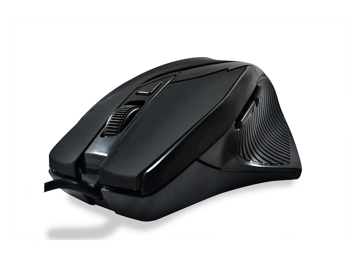 MOUSE ÓPTICO USB GAMER HARDLINE MS26 BLACK