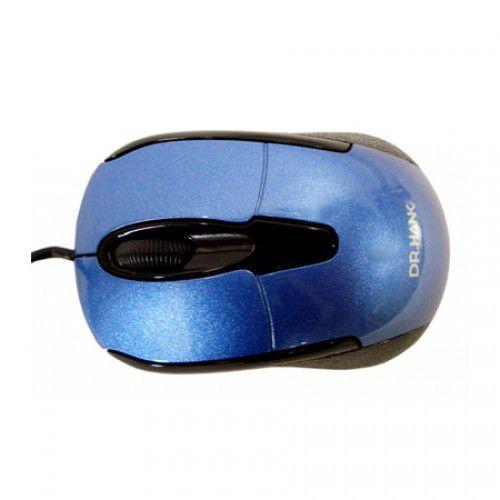 MOUSE USB MO395U P1KD AZUL DR.HANK