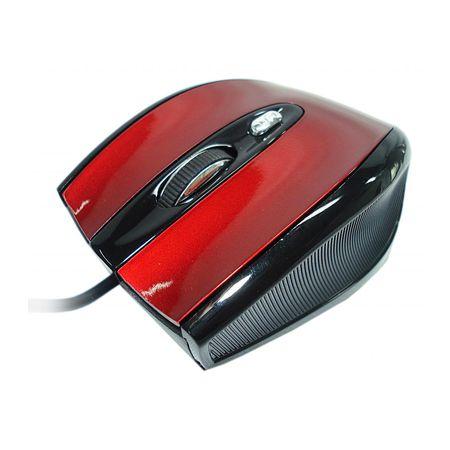 MOUSE USB MO-409U-P16E VERMELHO DR-HANK