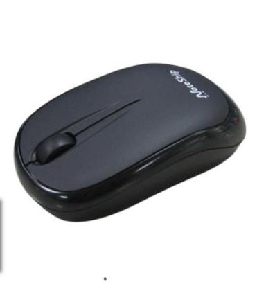 Mouse USB Retratil 7185 Rubber Silver Leadership