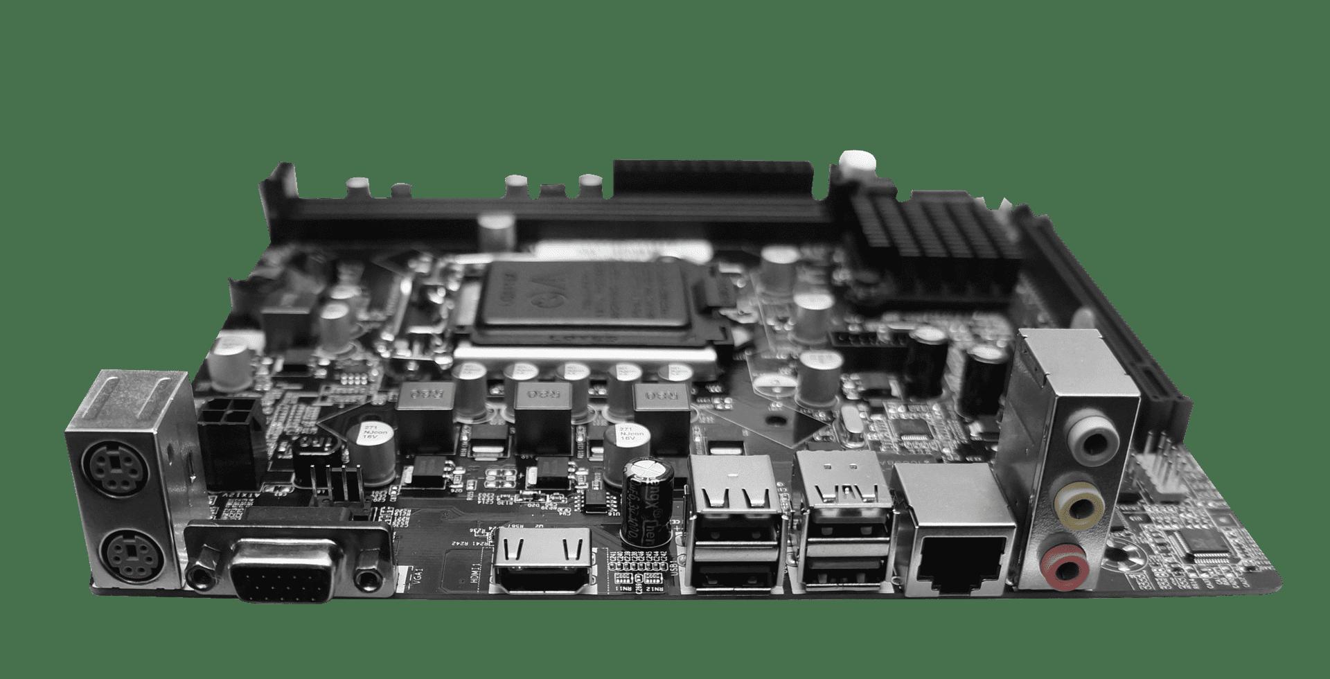 Paca Mãe Atx 1155 i3 i5 i7 BPC-B75M c/ Hdmi USB 3.0 Intel