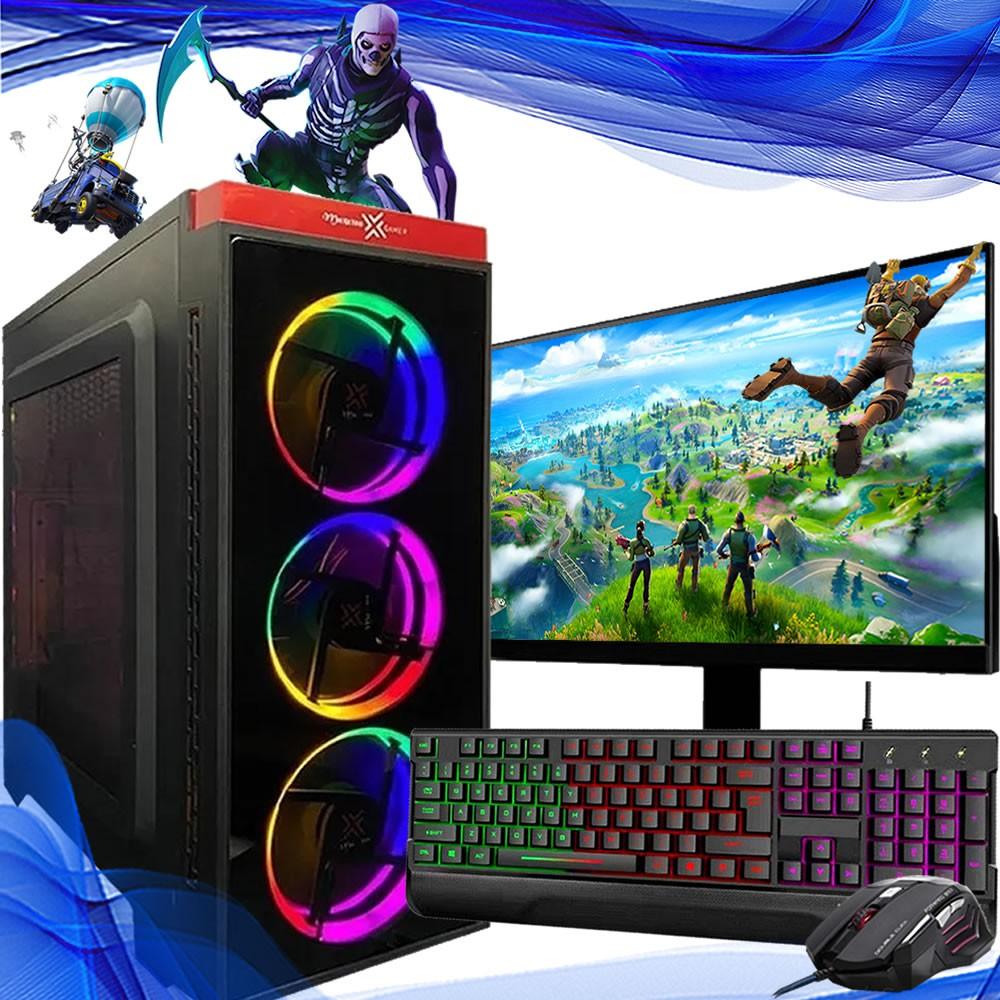 Pc Gamer Completo I5 8gb Hd 1tb Hdmi Placa de Vídeo Monitor