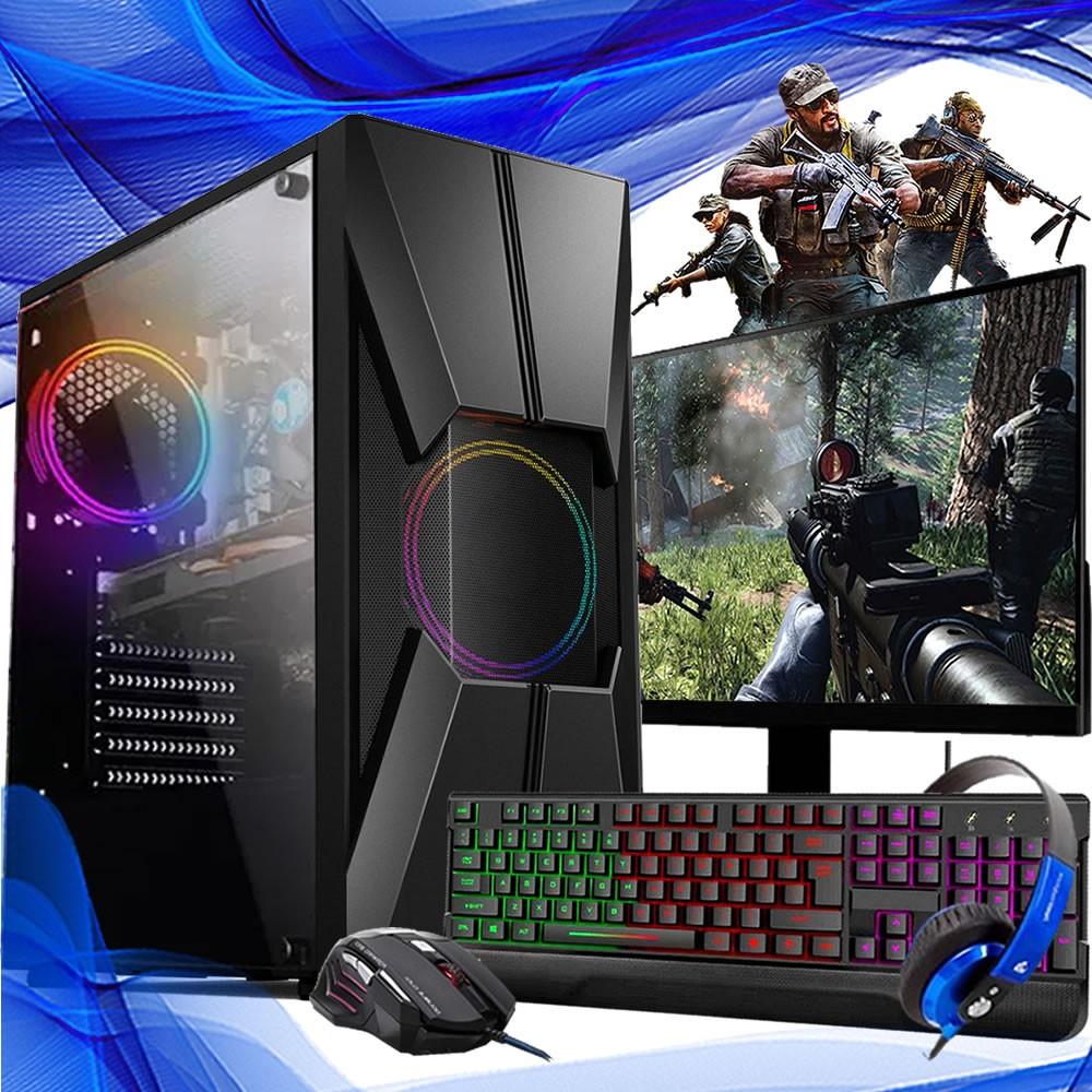 Pc Gamer Completo I7 16gb Ssd 120gb 1tb Placa De Video 1650