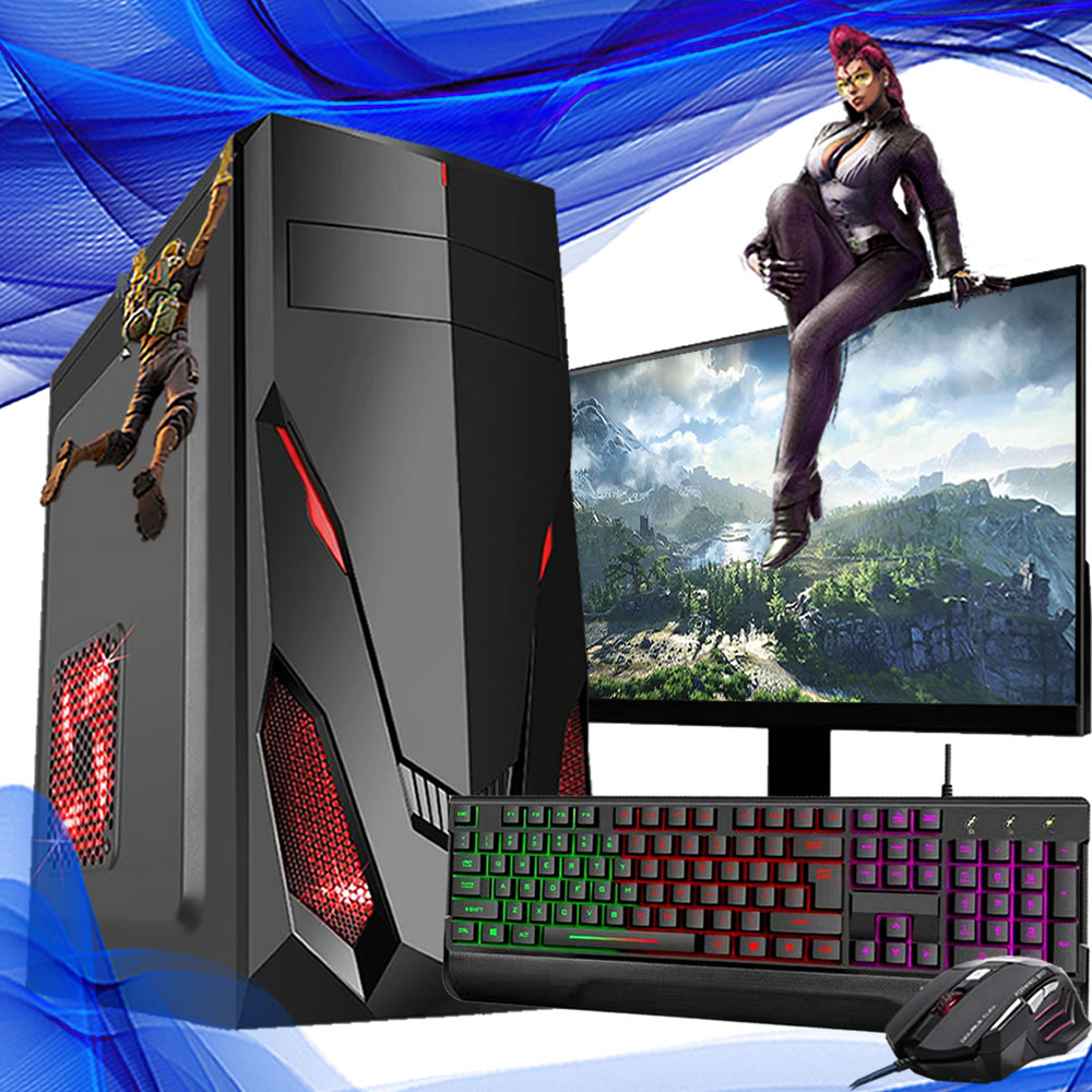 Pc Gamer Completo Intel I5 8gb Hd 500 Placa De Video Monitor