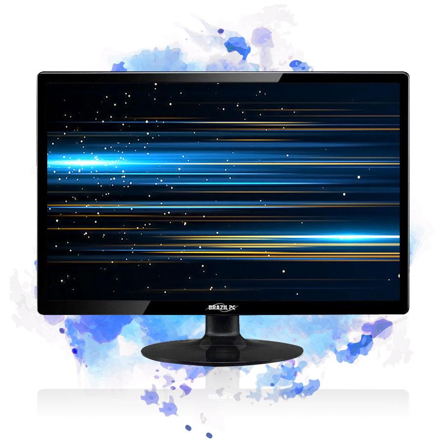 Pc Gamer Completo Intel I5 8gb Hd 500gb Placa De Video Monitor
