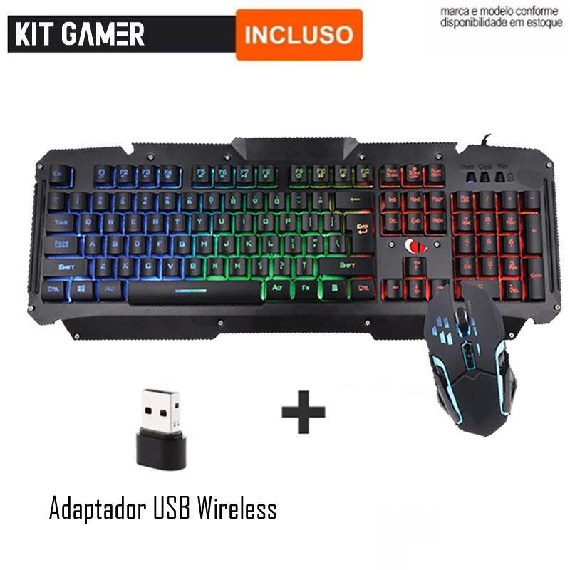 Pc Gamer Completo Intel I5 8gb Hd 500gb Placa De Video Wifi